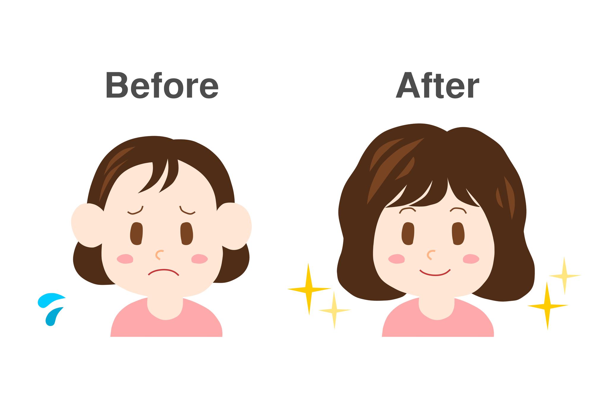 髪の毛がスカスカの女性必見!髪の毛の量を増やす方法とは?