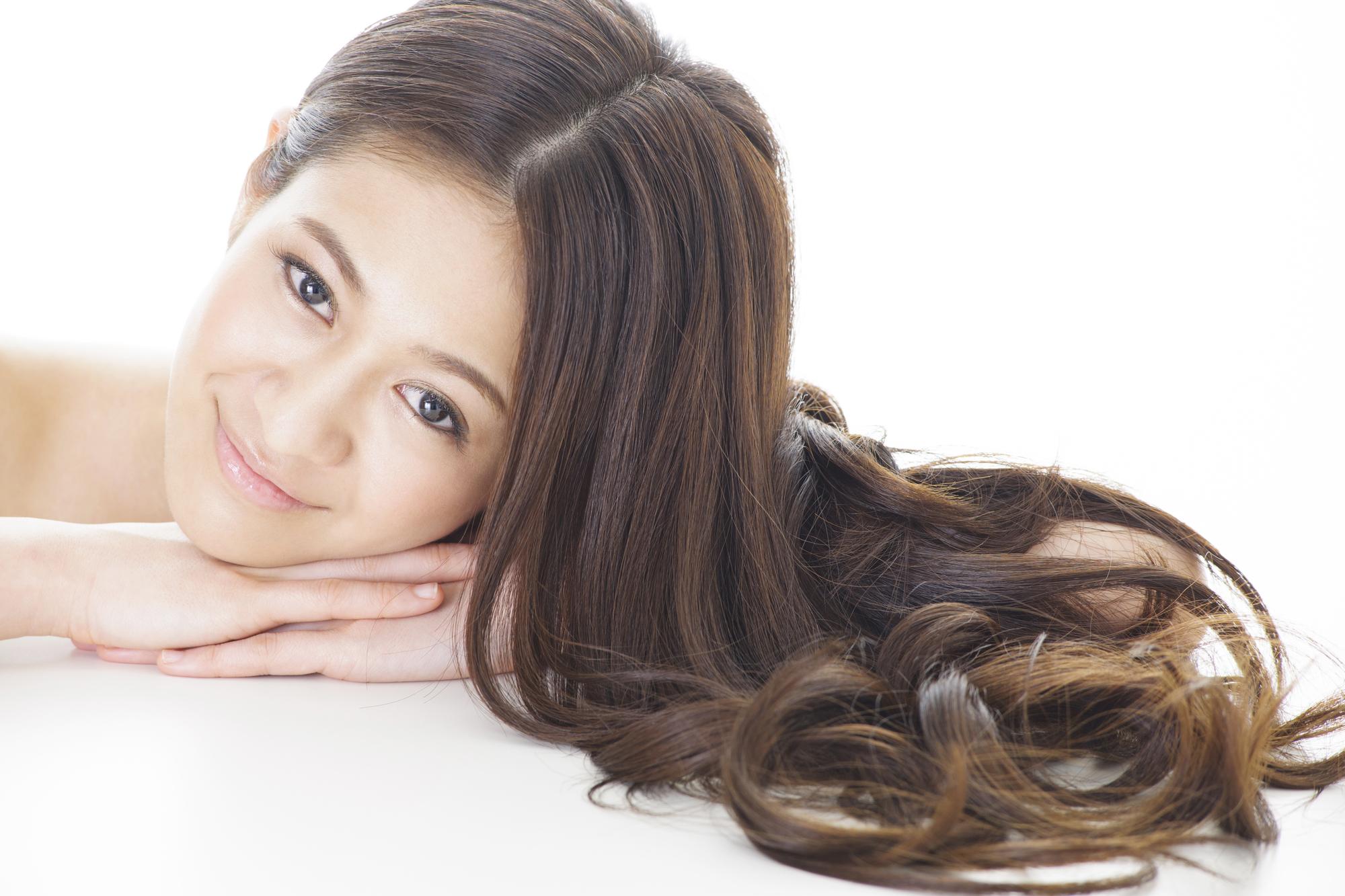 女性の綺麗な髪