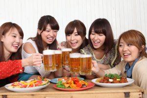 ビール女子会
